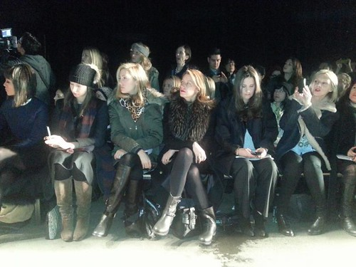 Rag & Bone front row