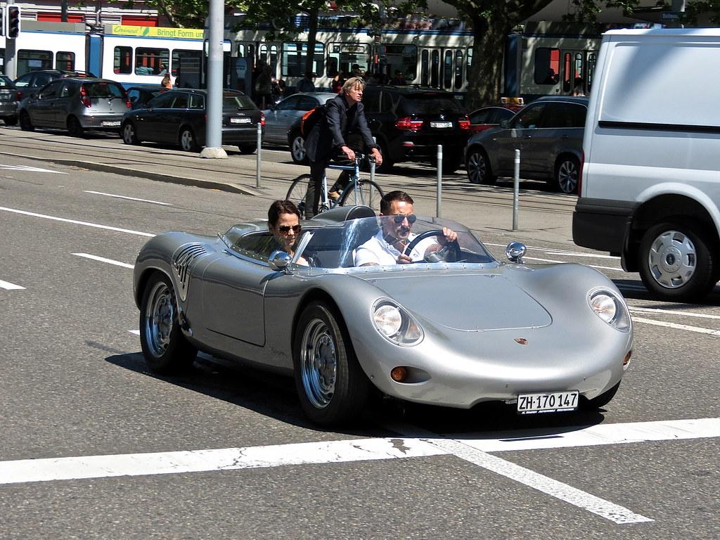 Spotted! Porsche 718 RSK Spyder, Zurich, Switzerland