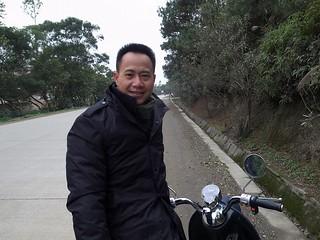 バイクのお兄ちゃん