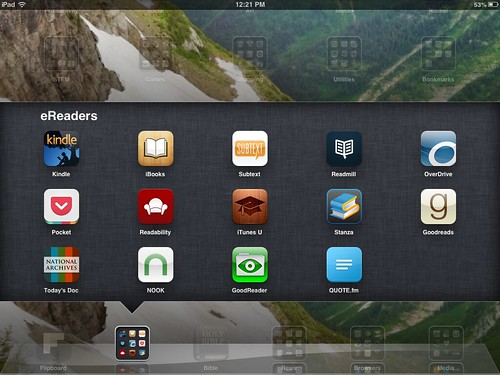 eReader iPad Apps (Feb 2013)