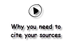 Why you need to cite your sources