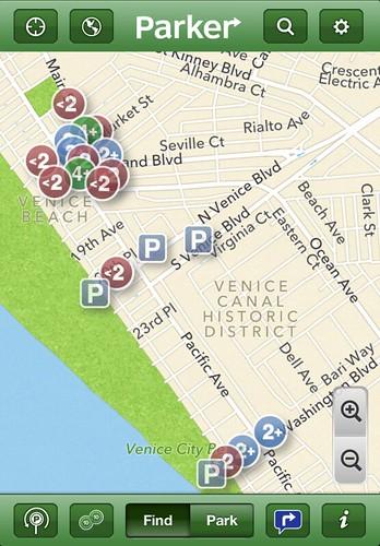 Parker Parking App