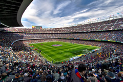 CampNou - Day of match