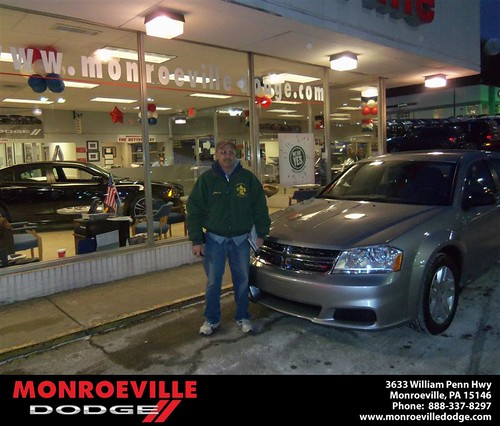 Congratulations to Daniel Bost on the 2013 Dodge Challenger by Monroeville Dodge