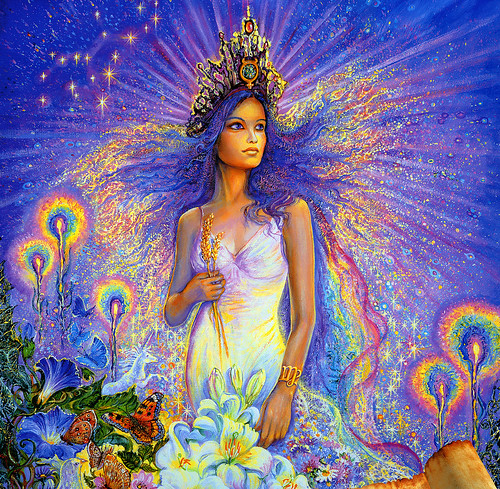 002-Virgo-Calendario 2009-Josephine Wall-via www.dana-mad.ru