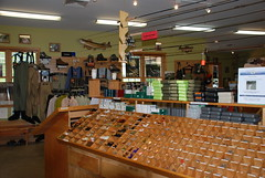 Fly Bins and Fly Boxes at Davidson River Outfitters - Brevard, NC