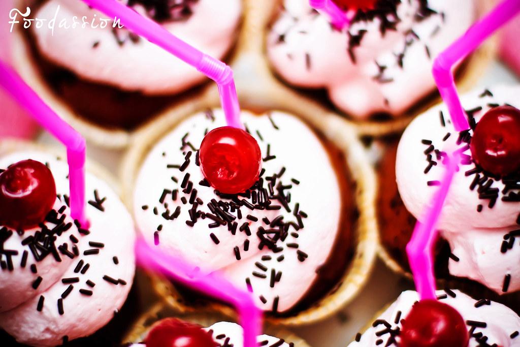 Cupcake koristelua