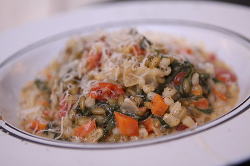 Freekeh Barley Risotto