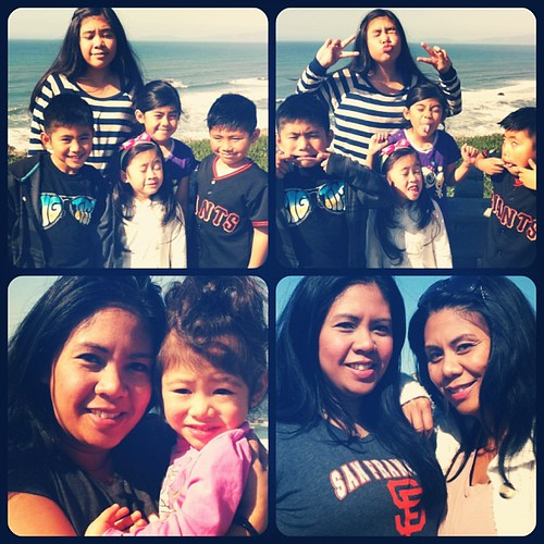 My beautiful family on this beautiful day @ Mussel Rock :) @dezdeegee @akaelaaa_g