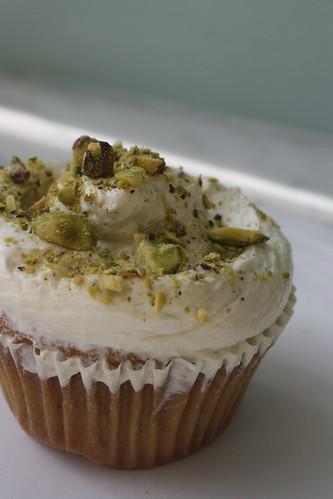 Magnolia bakery Pistachio cupcake