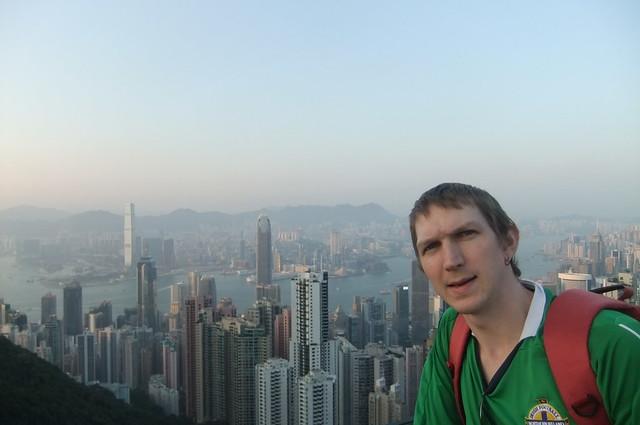 Jonny Blair in Hong Kong