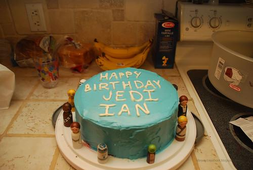 Jedi Birthday Cake