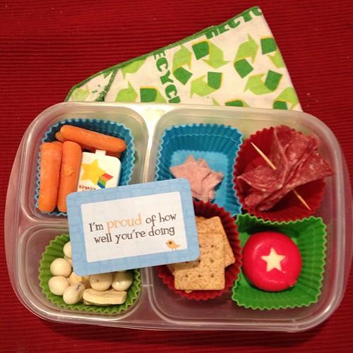 Back to school after winter break. #easylunchboxes #lunchboxlove #smartkin