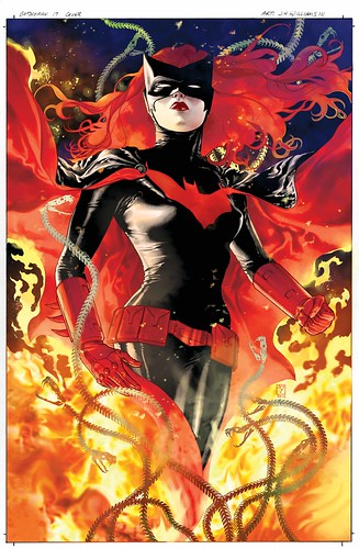 Batwoman 17 cover- color