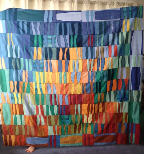 Finished quilt top (1) by Whippet Good