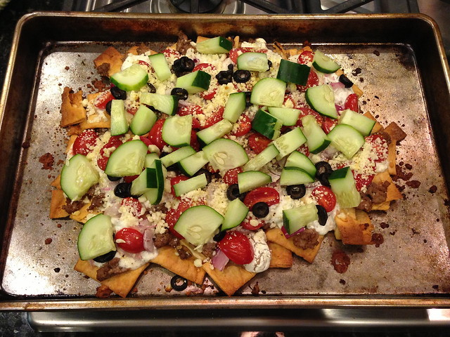 gyro nachos
