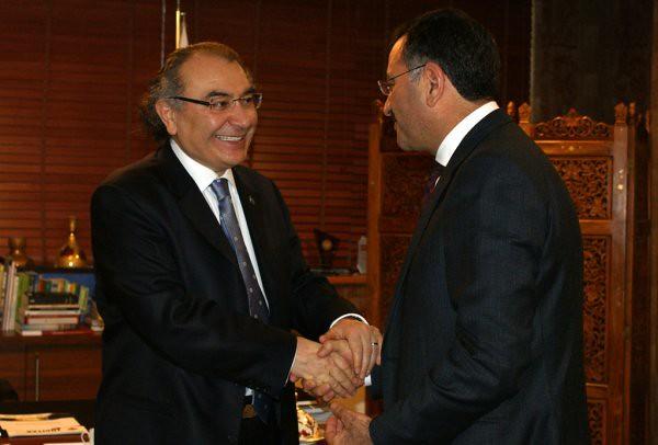 Üsküdar Belediye Başkanı Kara, Rektör Tarhan'ı ziyaret etti…