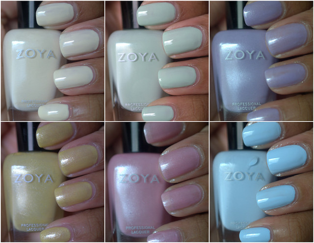 Zoya Lovely Spring 2013 collection