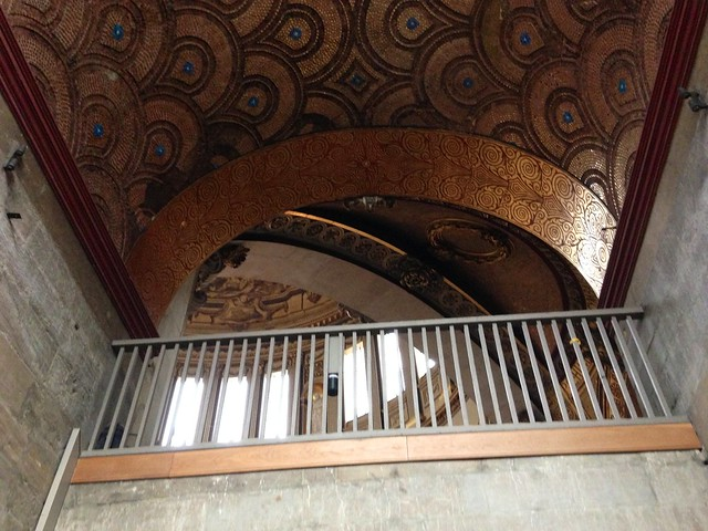 Peeking up to the Whispering Gallery