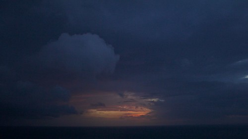 sea cloud seascape storm rain clouds sunrise skyscape dawn mar lluvia amanecer nubes tormenta