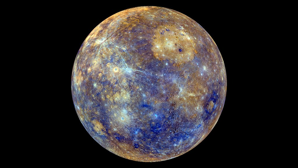 False Color View of Mercury
