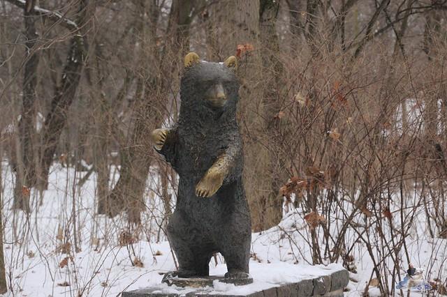 den kleinen Bären sagt wohl jeder guten Tag, die Tatzen und die Ohren sind ganz abgegrabbelt :-)