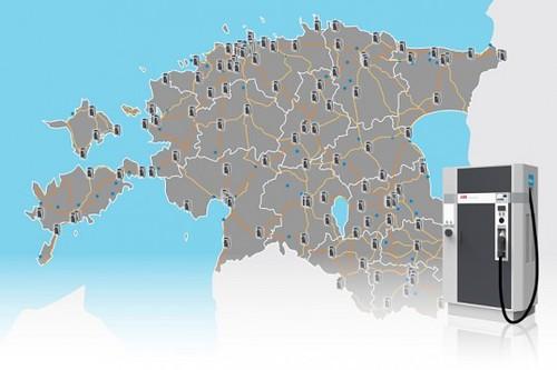 Первая в мире общенациональная сеть зарядки электромобилей появилась в Эстонии