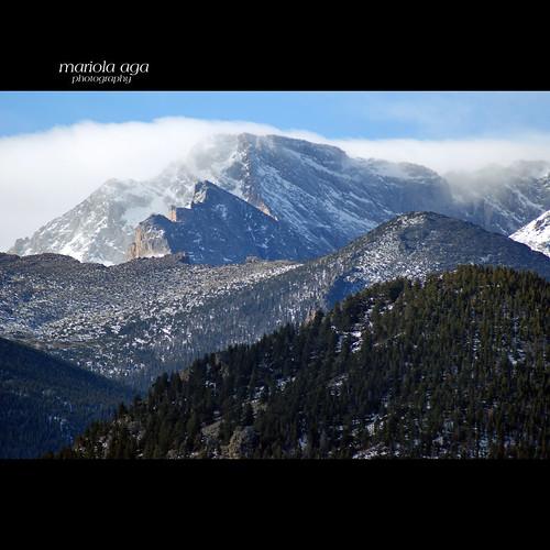 winter snow mountains nature clouds square nationalpark colorado estespark rockymountainnationalpark thegalaxy