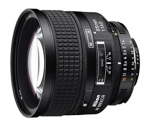 Nikon 85mm f/1.4D IF AF