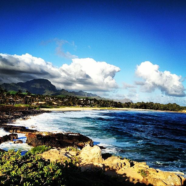 Kauai Beach: South Side Of Kauai. Poipu Beach.