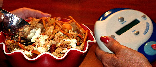 chex mix with game-1