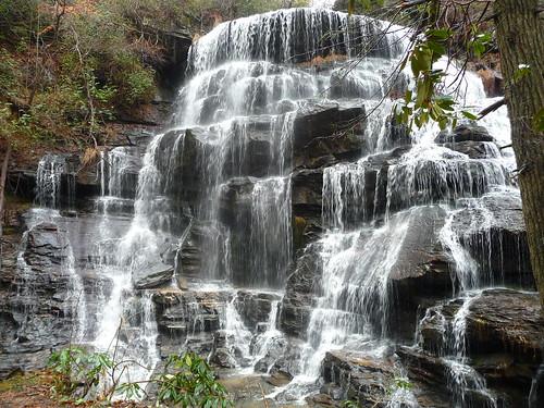 county sc yellow waterfall branch hiking southcarolina hike waterfalls co oconee yellowbranch