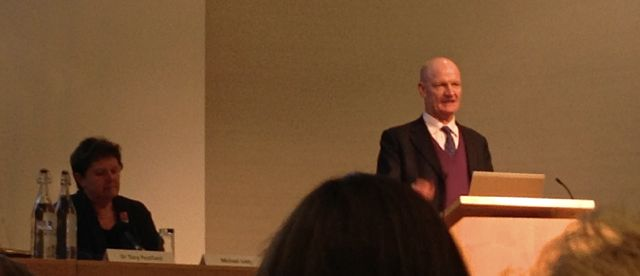 David Willetts speaking at the Royal Society OA in the UK Conference, Feb2013