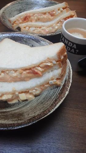卵サンド by nekotano