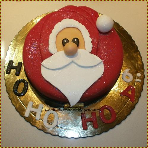Bolo Pai Natal  by Osbolosdasmanas