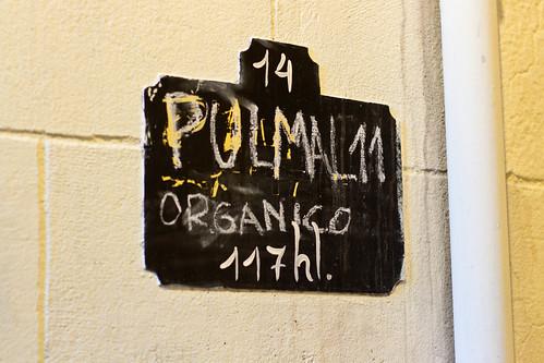 Detalle bodega Pulmary (Mendoza)