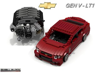 Chevrolet 2014 SS Sedan + Gen V LT1 Engine