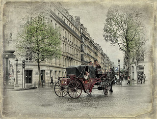 Paris, on the Champs-Elysees