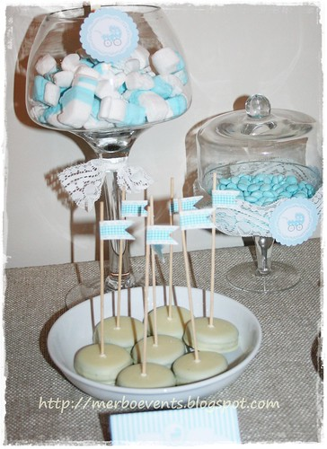 BAby Shower dulces Merbo Events