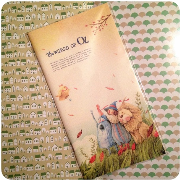 Each page is decorated inside #notebook #stationery #wizardofoz #notebook #snailmail @yozocraft