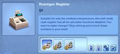 Roentgen Register