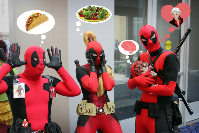 What Deadpools are thinking... from Flickr via Wylio