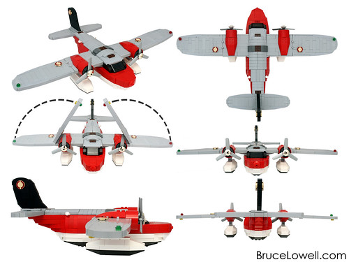 LEGO 5935 Island Hopper Redux