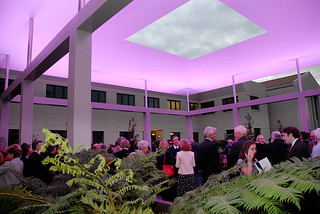 Dedication of the Turrell Skyspace in 2007