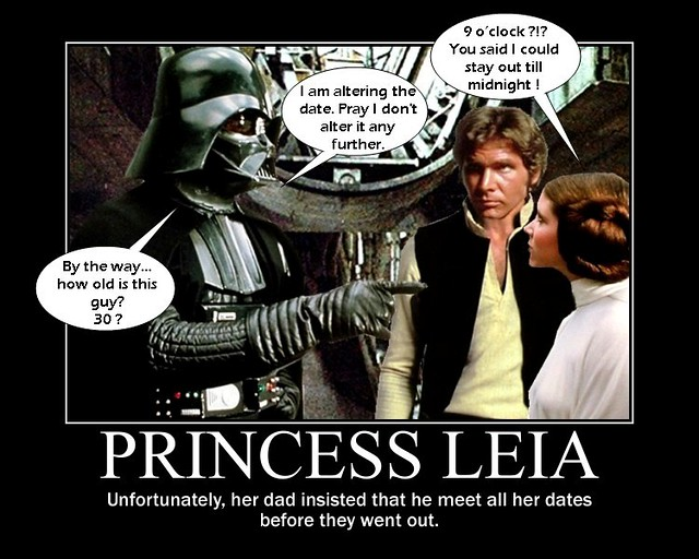 R Lee Ermey STAR WARS : Princess L...