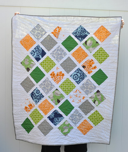 Lattice - Free Baby Quilt Pattern