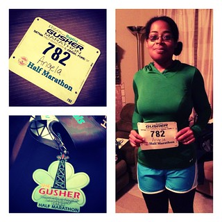 Gusher 2012: My First Half Marathon
