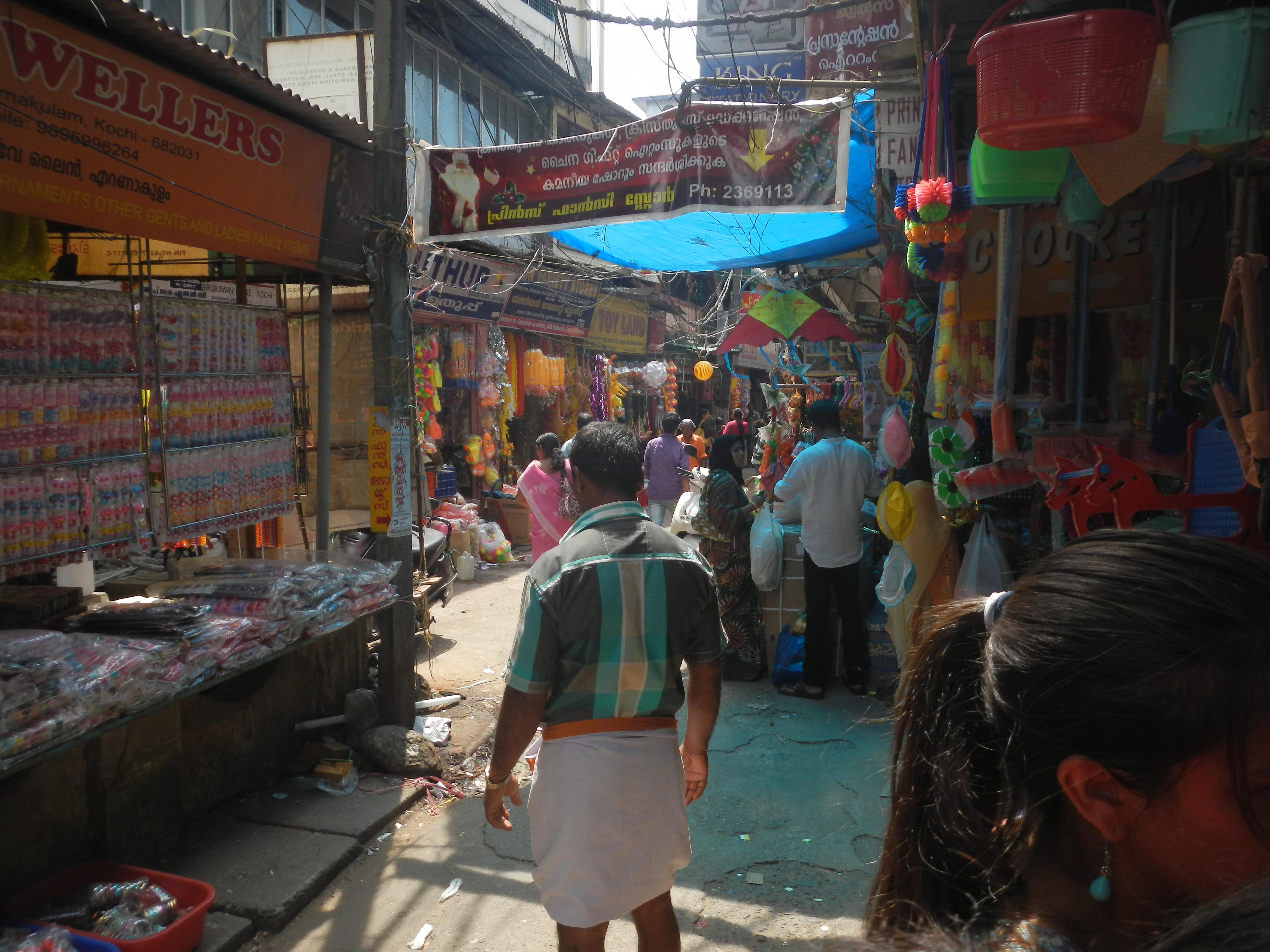 Market, Kochi, Kerala, India