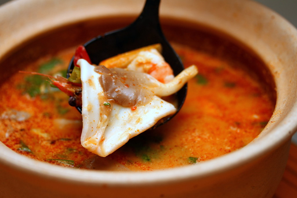 Ah Loy Thai Restaurant: Tom Yam Seafood Soup