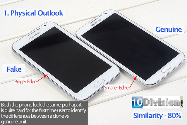 1 Samsung Galaxy Note 2 (GT-N7100) - Clone vs Original Ultimate Comparison